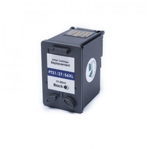 Compatível: Cartucho de Tinta HP 21 Black 19ml Microjet