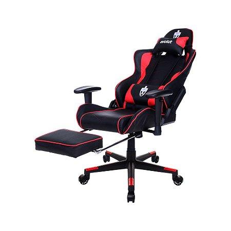 Cadeira Gamer Lazy Vermelho EG980 Evolut