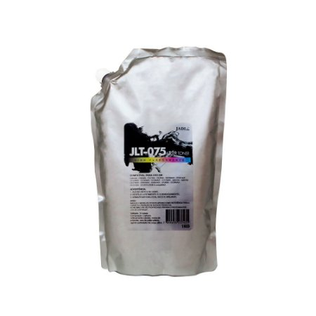 Compatível: Pó de Toner HP High Performance Universal JLT03/J75 Bag 1kg Jadi