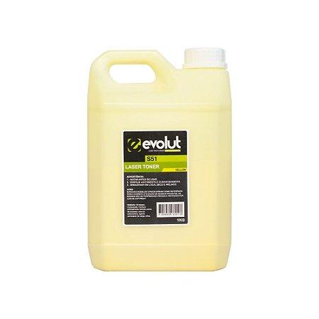 Compatível: Pó de Toner Samsung S51 Yellow Bottle 1kg Evolut