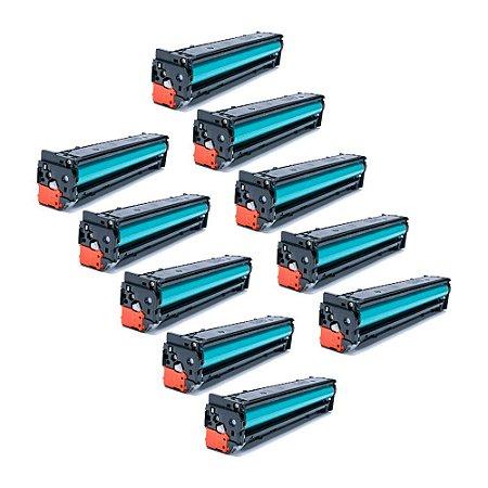 Compatível: Kit 10 Toner HP CB540A | CF210 | CE320 2.2k Chinamate