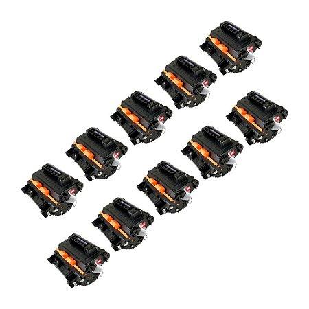 Compatível: Kit 10 Toner HP CC364A | CE390A 10k Evolut
