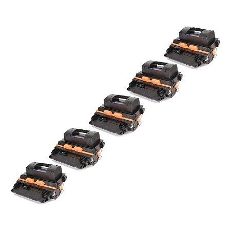Compatível: Kit 5 Toner HP CE390X   CE364X 24k Evolut