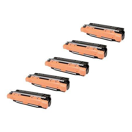 Compatível: Kit 5 Toner HP CE402A | CE252A Yellow 7k Evolut