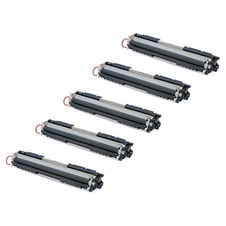 Compatível: Kit 5 Toner HP CE310A | CF350A 1.3k Chinamate