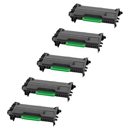 Compatível: Kit 5 Toner Brother TN3472   TN880 12k Chinamate