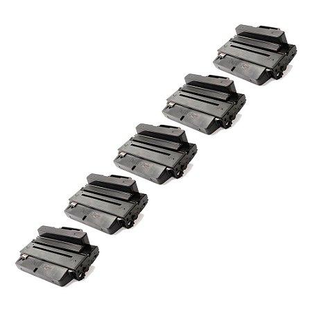 Compatível: Kit 5 Toner Samsung D205E | SCX 5637 10k Evolut