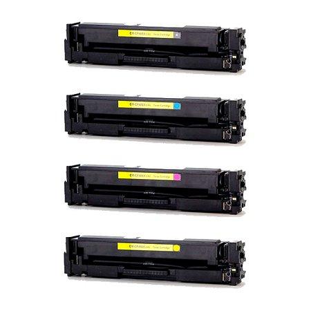 Compatível: Kit 4 Toner HP CF400X|CF401X|CF402X|CF403X CMYK Chinamate