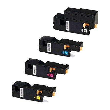 Compatível: Kit 4 Toner Xerox 106R01631/32/33/34 CMYK Evolut