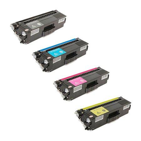 Compatível: Kit 4 Toner Brother HL4140|TN310/315 CMYK Chinamate