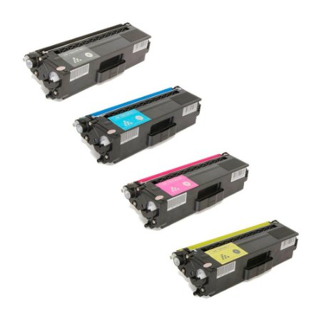 Compatível: Kit 4 Toner Brother HL4140|TN310/315 CMYK Evolut