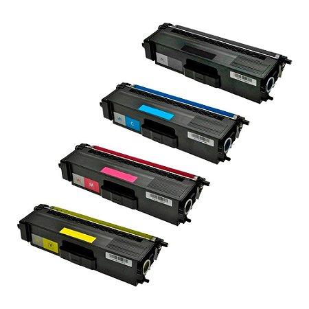 Compatível: Kit 4 Toner Brother TN329|HL8250CDN CMYK Evolut