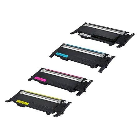 Compatível: Kit 4 Toner Samsung CLT-K407S|CLP320N CMYK Chinamate