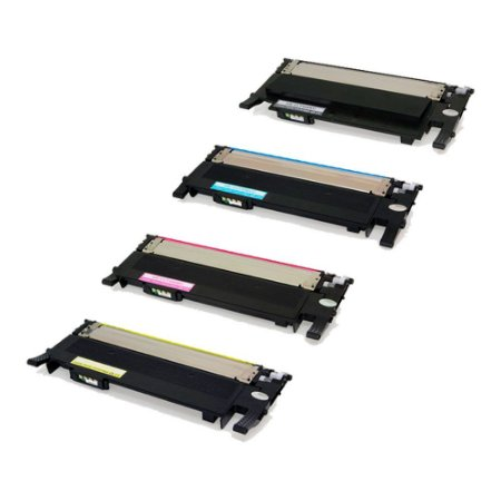 Compatível: Kit 4 Toner Samsung CLT K406S|CLX 3305W CMYK Chinamate