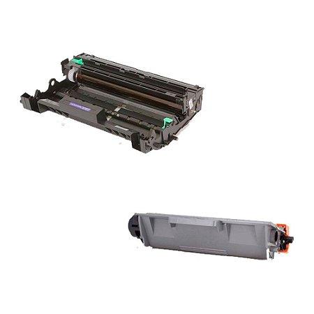 Compatível: Kit Fotocondutor + Toner Brother DR720 | TN720 Evolut