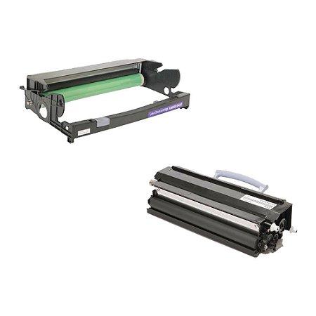 Compatível: Kit Fotocondutor + Toner Lexmark 12A8302   E330 Evolut