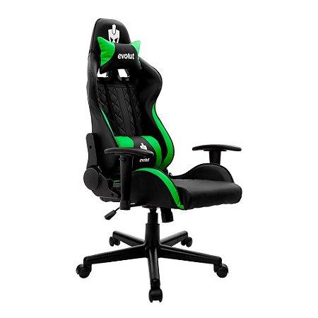 Cadeira Gamer Tanker V2 Verde EG-905 Evolut