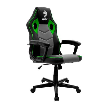 Cadeira Gamer Hunter Verde EG-903 Evolut