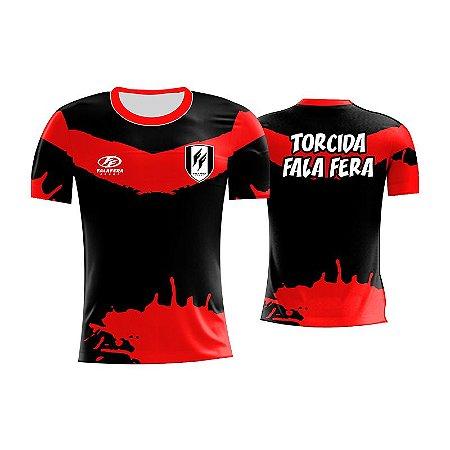 Camiseta Futebol Torcida Adulto