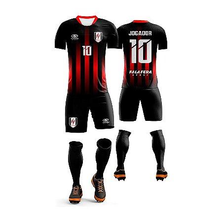 Uniforme Futebol Completo de Jogo / Treino Juvenil