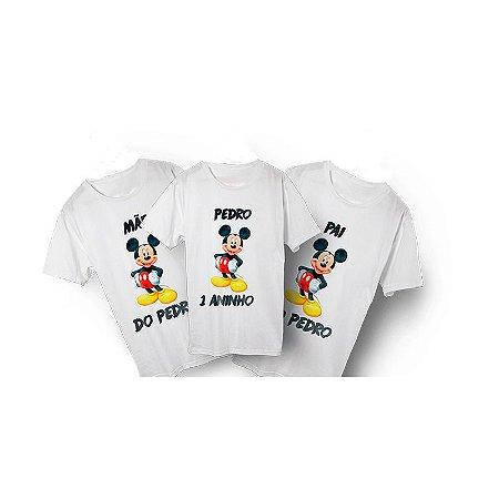 Camiseta Aniversários infantil