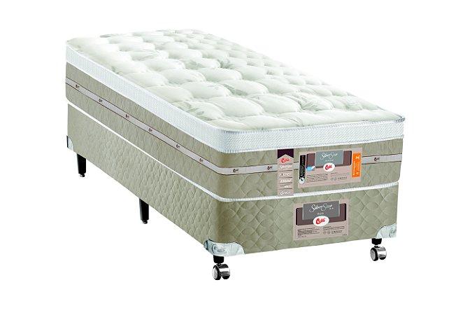 Cama Box Solteiro Pocket Silver Star AIR One Face  096X203x032 Castor