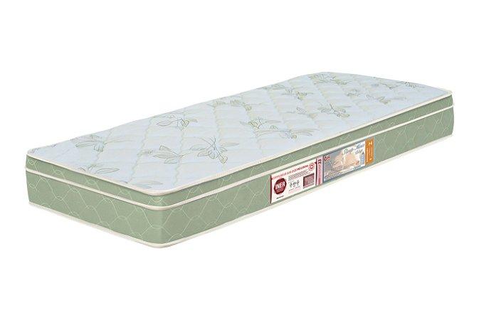 Colchão Solteiro Verde Castor  Sleep Max D33 088x188x15