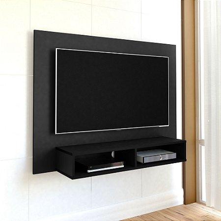 Painel de TV para Quarto Até 47 Polegadas Flash  Artely Preto