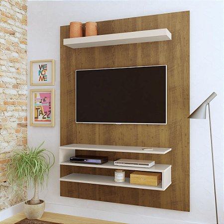 Painel  Orion Artely para TV até 42 Polegadas  Pinho Off White