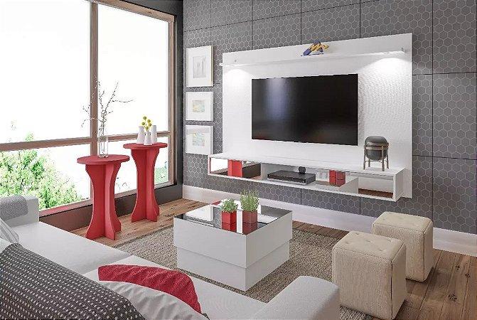 Painel Platinum Para Tv 55 Polegadas + Mesa De Centro Parati Artely Br