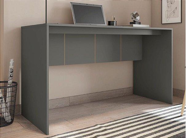 Mesa de Computador Cubic Cinza 136 cm Caemmun BP