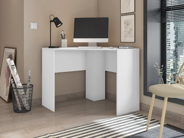Mesa de Canto Cubic Caemmum Branco