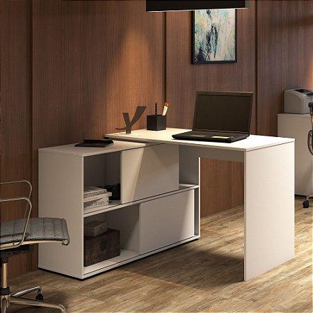 Mesa de Escritório Artany  Mingle Branca