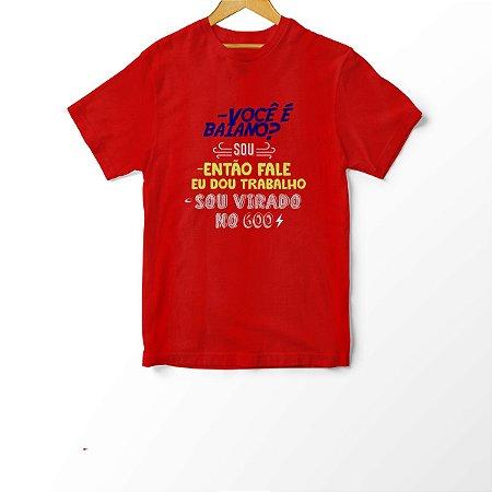 Camiseta Infantil Virado no 600