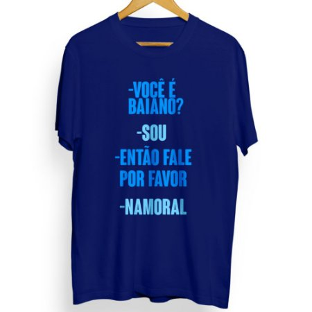 Camiseta Masculina Namoral