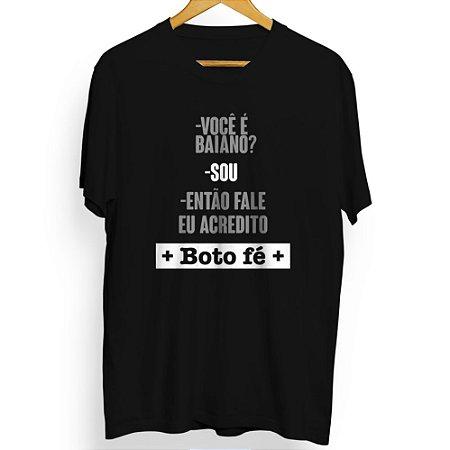 Camiseta Masculina Boto Fé