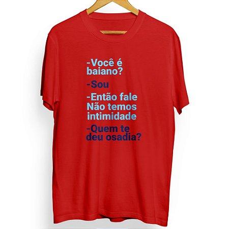 Camiseta Masculina Quem Te Deu Osadia?