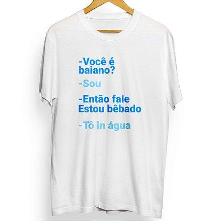Camiseta Masculina Tô in Água