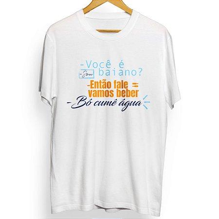 Camiseta Masculina Bó Cumê Água!