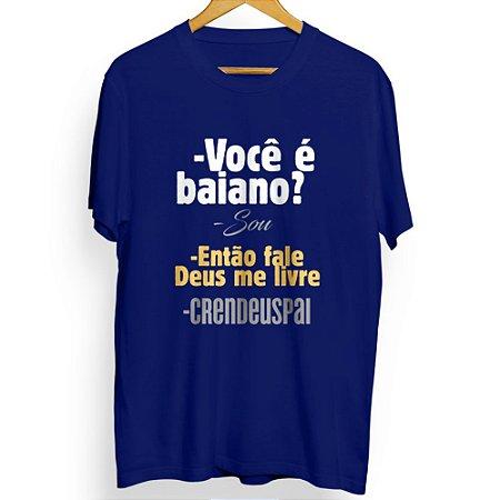 Camiseta Masculina Crendeuspai