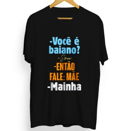 Camiseta Masculina Mainha