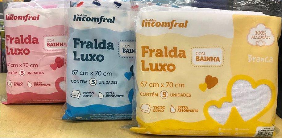 FRALDA INCOMFRAL COM BAINHA