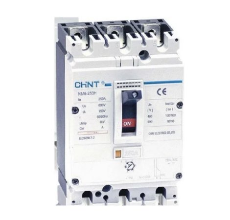 Disjuntor Caixa Moldada Regulável 400a Nm8 400s Chint