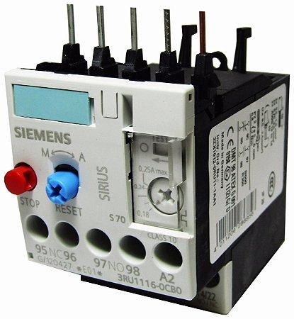 Relé De Sobrecarga 3Ru11, Marca Siemens