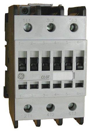 Contator Cl 220V 65/110A 1Na+1Nf Cl07, Marca Ge