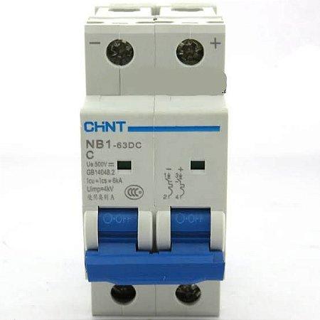 Mini Disjuntor 2P C 6Ka Nb1, Marca Chint