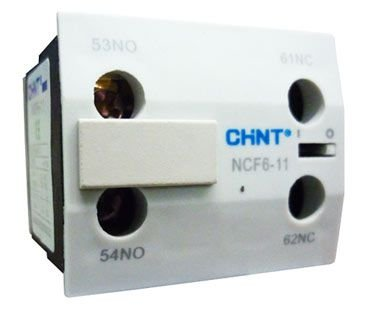 Contato Auxiliar CF 1Na+1Nf NCF6 11, Marca Chint
