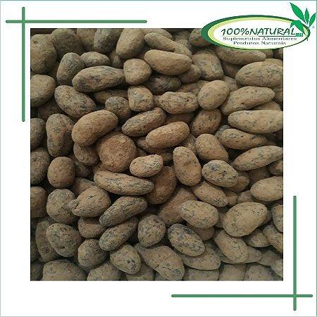 Castanha de caju drageada com chocolate 70% - 100g - 100% Natural