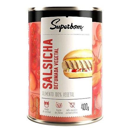 Salsicha Vegetal Defumada Peso liq. 400g - SuperBom