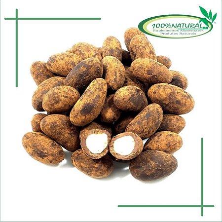 Castanha do Pará Drageada com Chocolate 70% 100g - 100% Natural